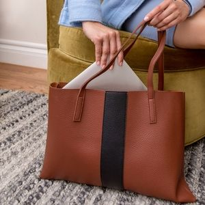 Vince Camuto Red Desert Luck Large Tote Bag